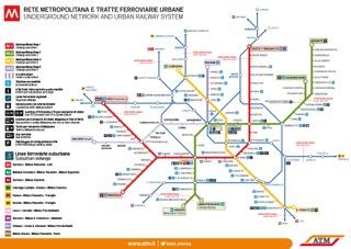 Mappa Metro aggiornata